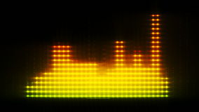 Free Colored Equalizer, 3d Animated Lines Royalty Free Stock Photos - 37490368
