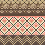 Colored ethnic texture Stock Images