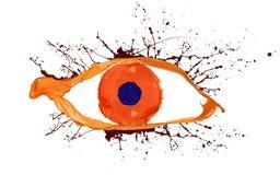 Colored eye Stock Photos