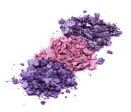 Colored eye shadow Royalty Free Stock Images