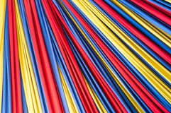 Colored fabric on background Stock Image