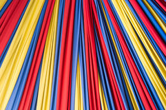 Colored fabric on background Royalty Free Stock Image