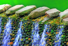 Colored Falls Royalty Free Stock Photo