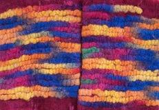 Colored felt Stock Photos