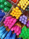 Colored felt pen Royalty Free Stock Images