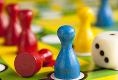 Colored figures Royalty Free Stock Photos