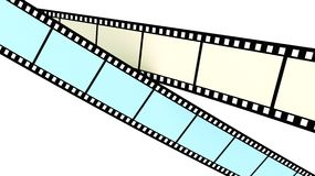 Colored films Stock Images