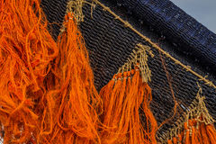 Colored fishing net Stock Photography