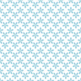 Colored flower seamless background. Blue and white ornaments Royalty Free Stock Photos