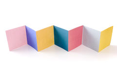 Colored folder Royalty Free Stock Photography