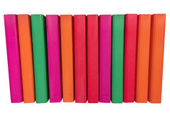 Colored folders for papers isolated on a white background Royalty Free Stock Image