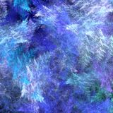 Colored fractal background Stock Photography
