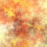 Colored fractal background or texture Stock Images