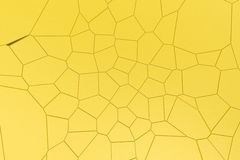 Colored fractured surface Royalty Free Stock Image