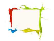 Colored frame Royalty Free Stock Photography