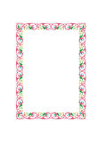 Colored frame Royalty Free Stock Image