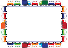 Colored frame for children Royalty Free Stock Photography