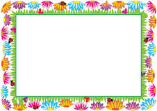 Colored frame for children Stock Image