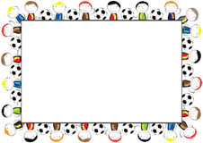 Colored frame for children Stock Photography