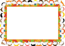 Colored frame for children Royalty Free Stock Images