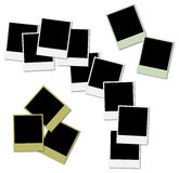 Colored frames for photo collage Royalty Free Stock Image