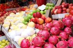 Colored fruits Royalty Free Stock Photos
