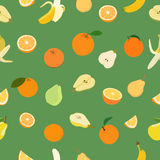 Colored fruits Stock Photo