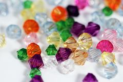 Colored Gems Stock Image