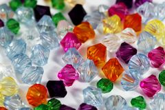 Colored Gems Royalty Free Stock Images