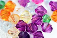 Colored Gems Stock Images