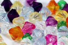 Colored Gems Stock Photography