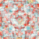 Colored gentle polygons. geometric background. grunge effect Stock Photo