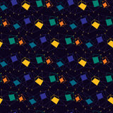 Colored geometric abstraction Royalty Free Stock Image
