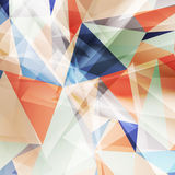Colored geometric background for design Stock Photo