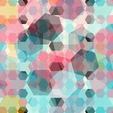 Colored geometric background Royalty Free Stock Photography