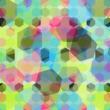 Colored geometric background Royalty Free Stock Photos