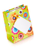 Colored gift bag Royalty Free Stock Photos