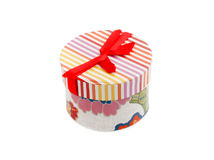 Colored gift box Stock Images