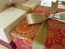 Colored gift box for all occasions Royalty Free Stock Images