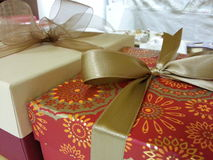 Colored gift box for all occasions Royalty Free Stock Image
