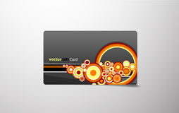 Colored gift card. Royalty Free Stock Photos