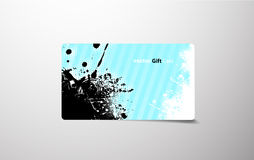 Colored gift card. Stock Photography