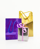 Colored gift packages Stock Images