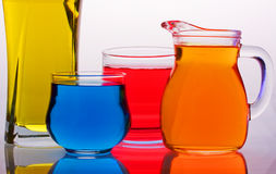 Colored glass Stock Photography