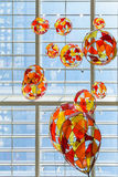 Colored Glass Balloons Royalty Free Stock Photography