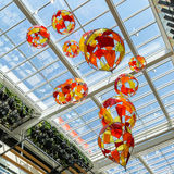 Colored Glass Balloons Royalty Free Stock Photos