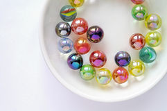 Colored glass marbles (2) Stock Photography