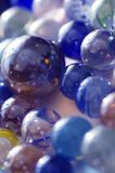 Colored glass marbles Royalty Free Stock Photography