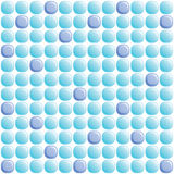 Colored glass mosaic of circle form Stock Photo