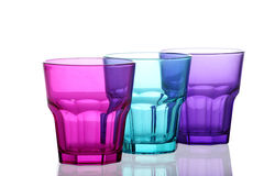 Colored glasses Stock Photo